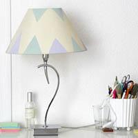 diy astuce pour relooker un abat jour agenda de la nantaise. Black Bedroom Furniture Sets. Home Design Ideas