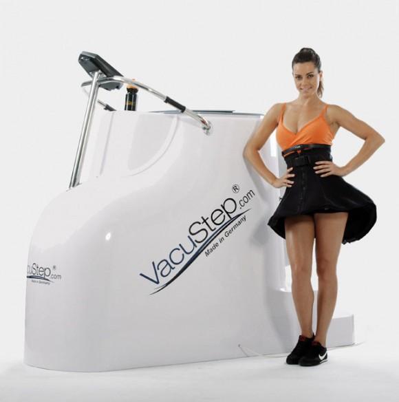 Vacustep anti cellulite
