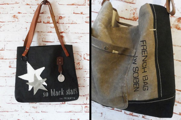 sacs main vintage made in france de la marque nantaise soben. Black Bedroom Furniture Sets. Home Design Ideas