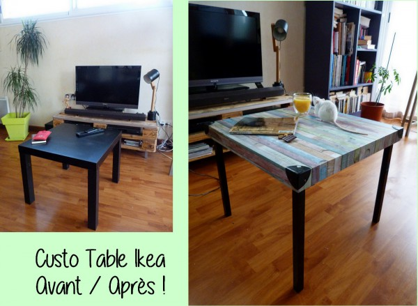 diy relooker une table basse ik a. Black Bedroom Furniture Sets. Home Design Ideas