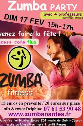 Zumba à Nantes