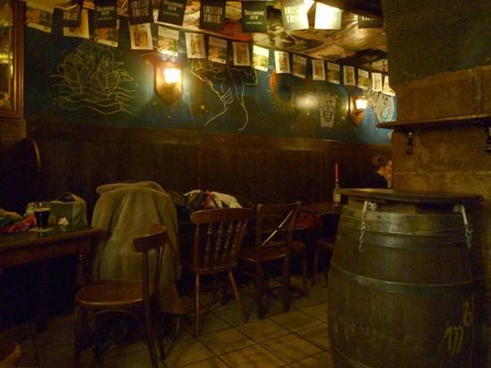 Irish pub Buck Mulligan's