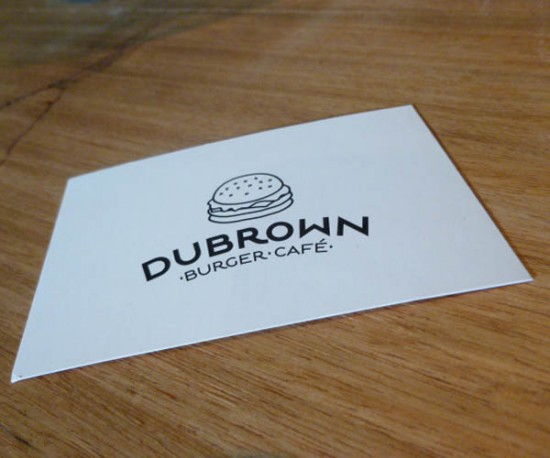 Dubrown Burger Café à Nantes