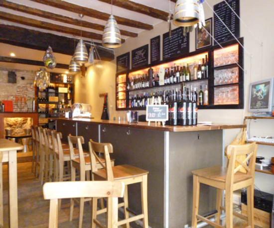 Bar à vins à Nantes : L'Appart des Anges