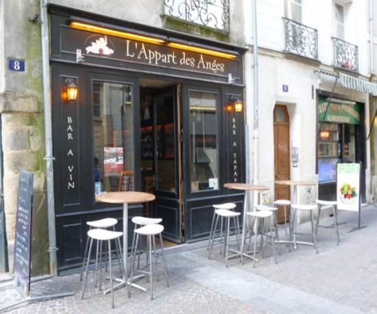 L'Appart des Anges, bar à vins à Nantes