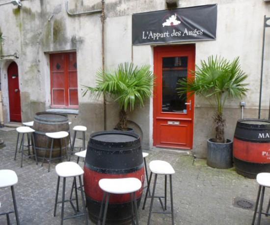 Bonnes adresses : L'Appart des Anges, bar à vins à Nantes