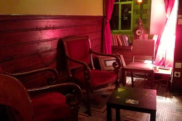 Café librairie à Nantes