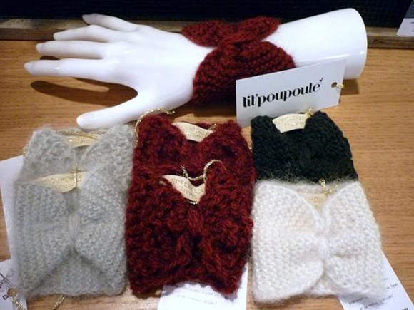 tit'poupoule-poignets tricots