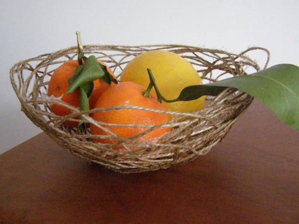 DIY corbeille de fruits
