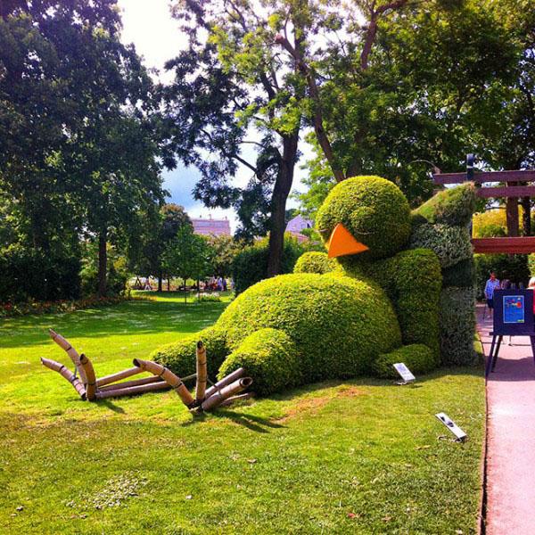 Claude Ponti revient au Jardin des Plantes avec ses poussins