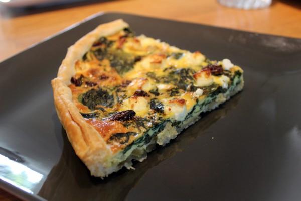 Menu végétarien Graines d'Ici - tarte blettes 800x533 px